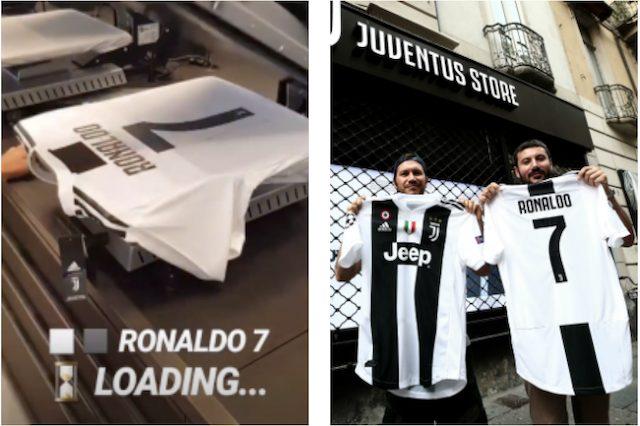 Juventus la maglia numero 7 di Cristiano Ronaldo boom di