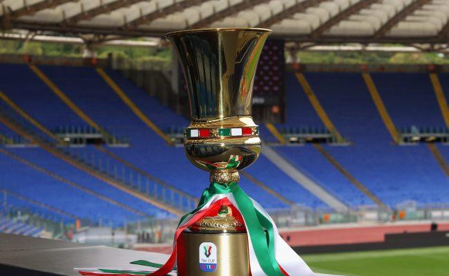 Tabellone Coppa Italia 2019 2020 Napoli Lazio Via Ai