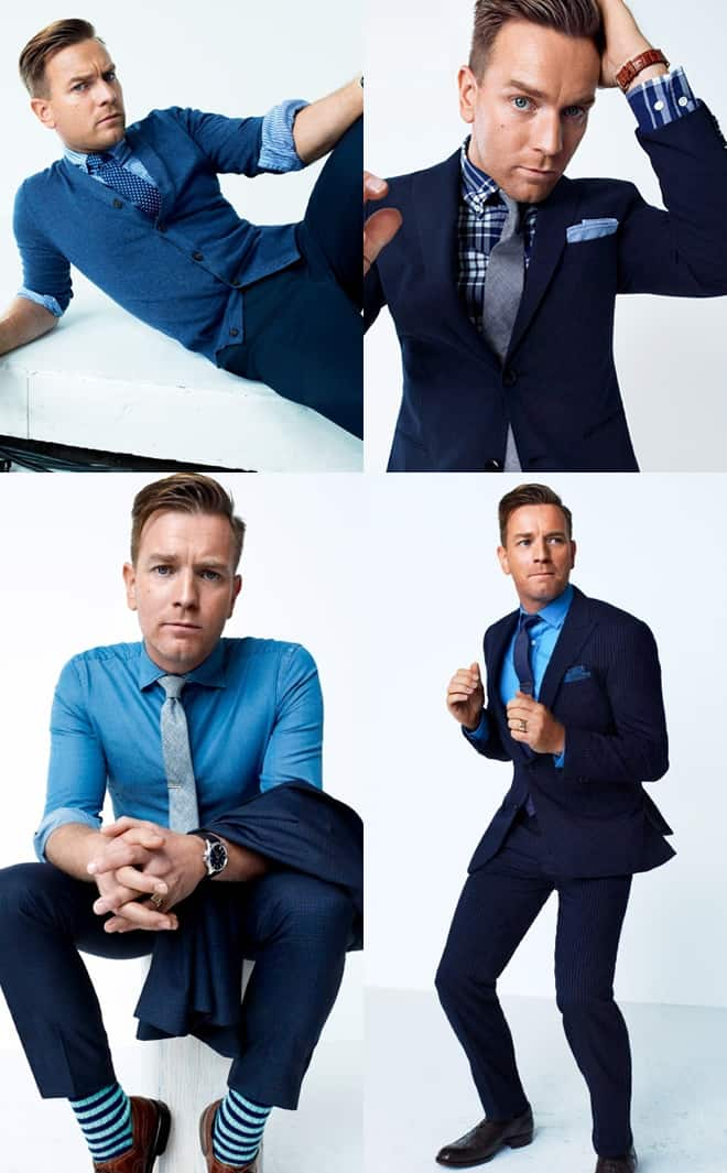 Ewan McGregor Editorial for GQ.com