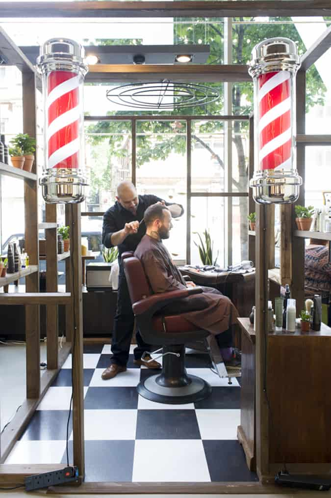Aveda Men's Pop Up Barbershop FashionBeans