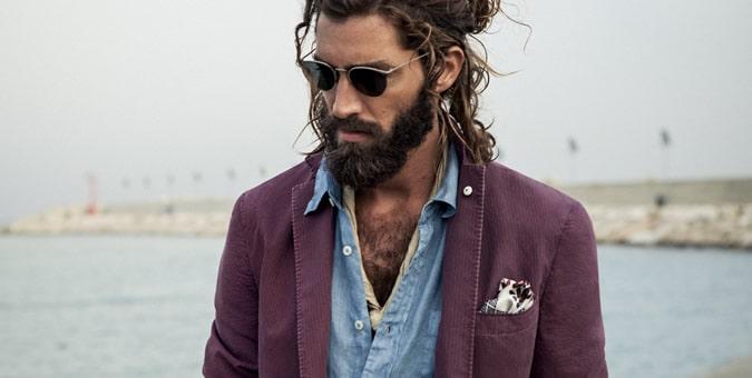 Mens 2014 Key Colour Trend Purple FashionBeans