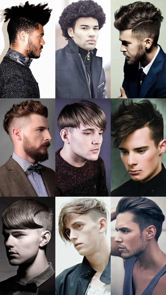 Get The Right Haircut Key Mens Hairdressing Terminology