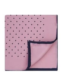 T.m.lewin Pink Silk Wedding Pocket Square
