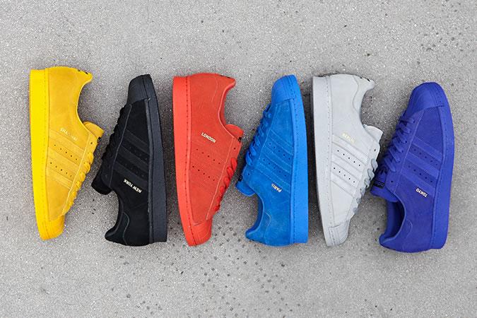 adidas Originals - Superstar City Pack - Baskets