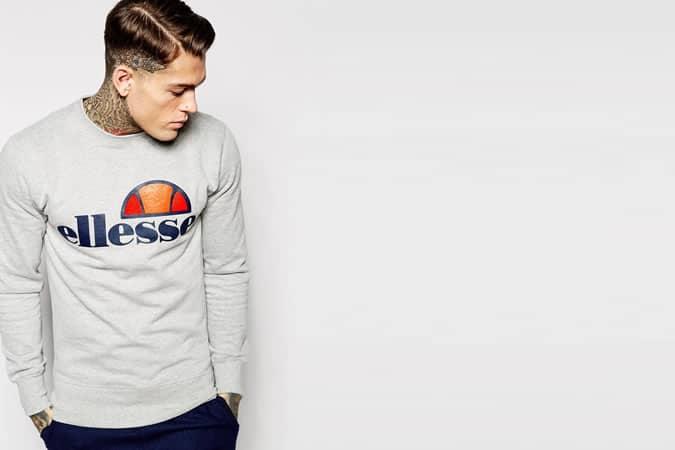 Ellesse Sweatshirt With Classic Logo
