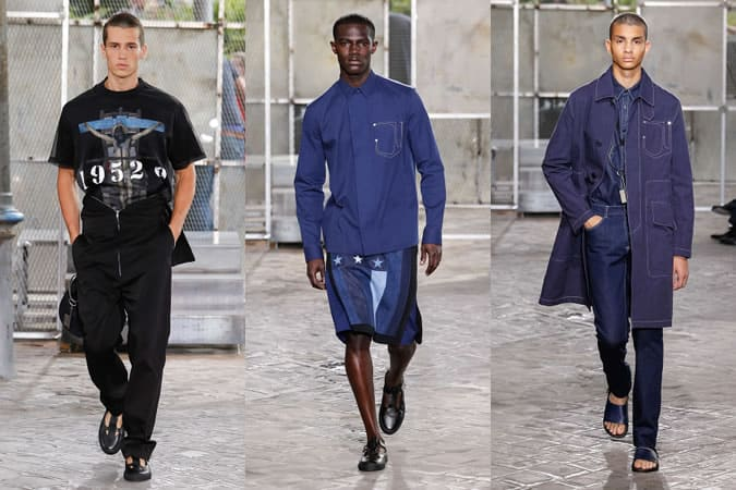Givenchy Vêtements pour hommes Printemps/Été 2016 Défilés