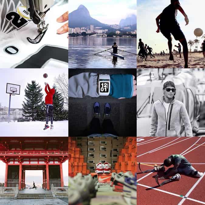 Compte Instagram Nike
