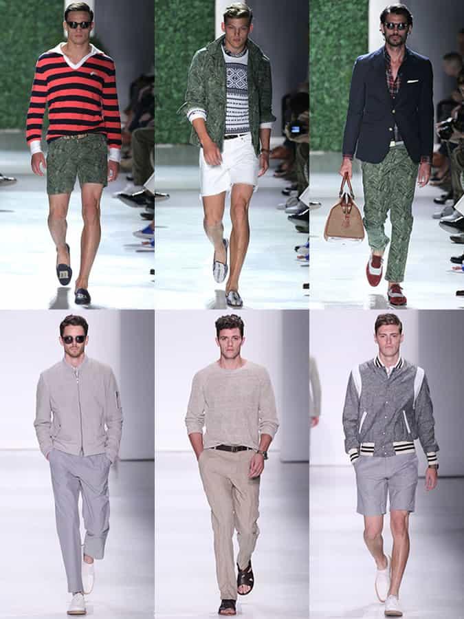 Michael Bastian et Todd Snyder SS16 Menswear Runways - New York Fashion Week