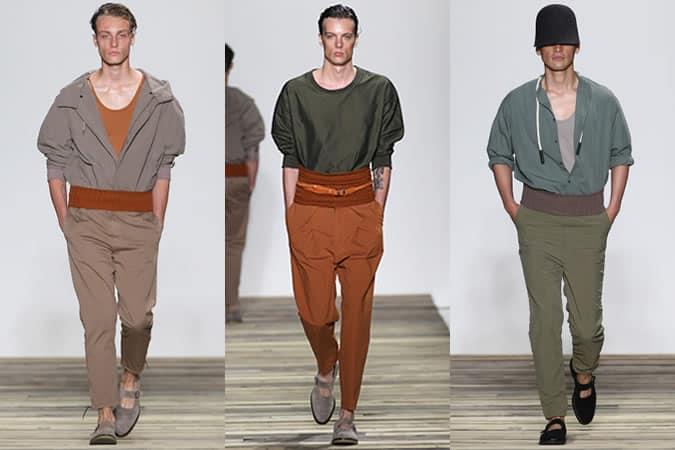 Défilés Robert Geller SS16 pour hommes - Semaine de la mode de New York