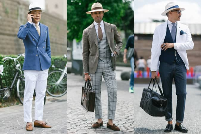 Men's SS16 Street Style Trends - Sun Hats, Bucket Hats and Fedoras/Trilbies
