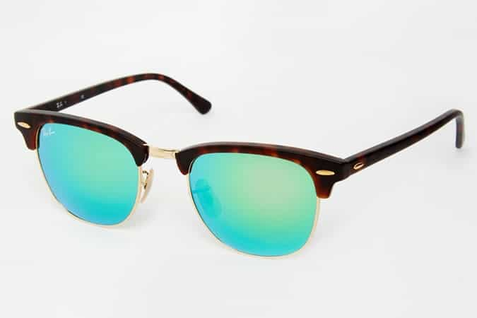 Lunettes de soleil Ray-Ban Clubmaster 0RB3016
