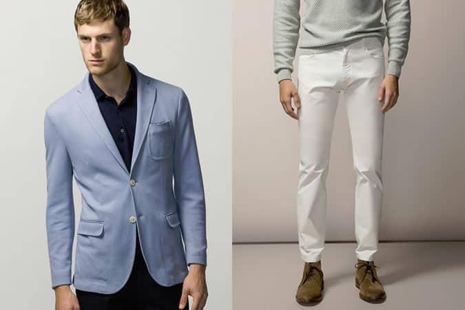 Pantalon et blazer Massimo Dutti