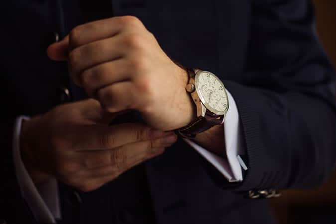 It's important that your watch matches the occasion as well as your outfit