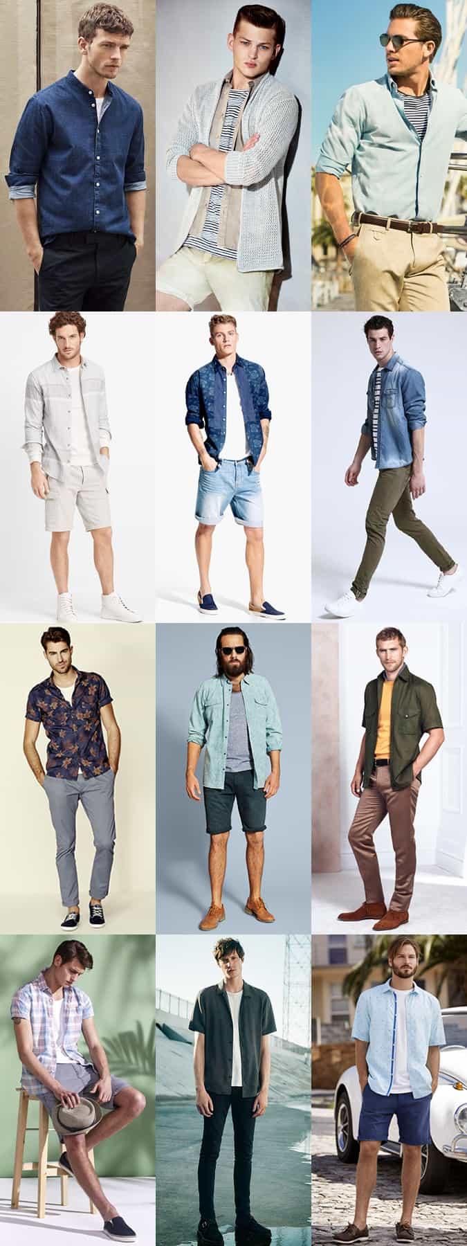 Lookbook d'inspiration pour les vêtements d'été pour hommes