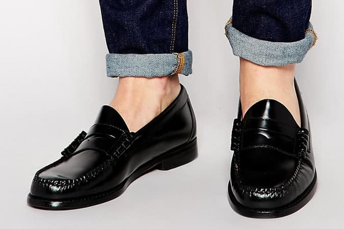 GH Bass Larson Penny Loafers