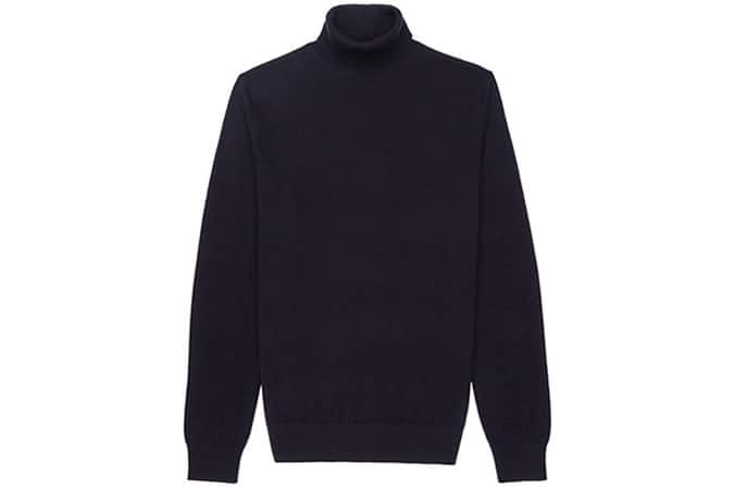 Reiss Observatory Merino Wool Neck Jumper