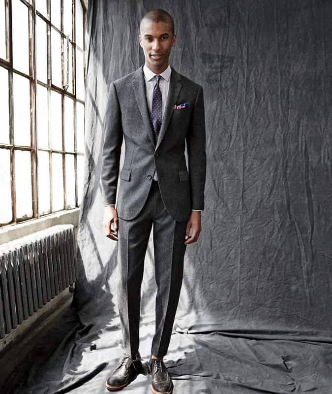 Thin Lapels and Tie Knots will help keep things in proportion to your smaller features