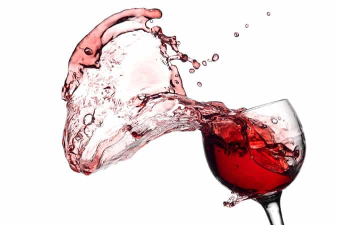 How to get rid of red wine stains quickly and easily