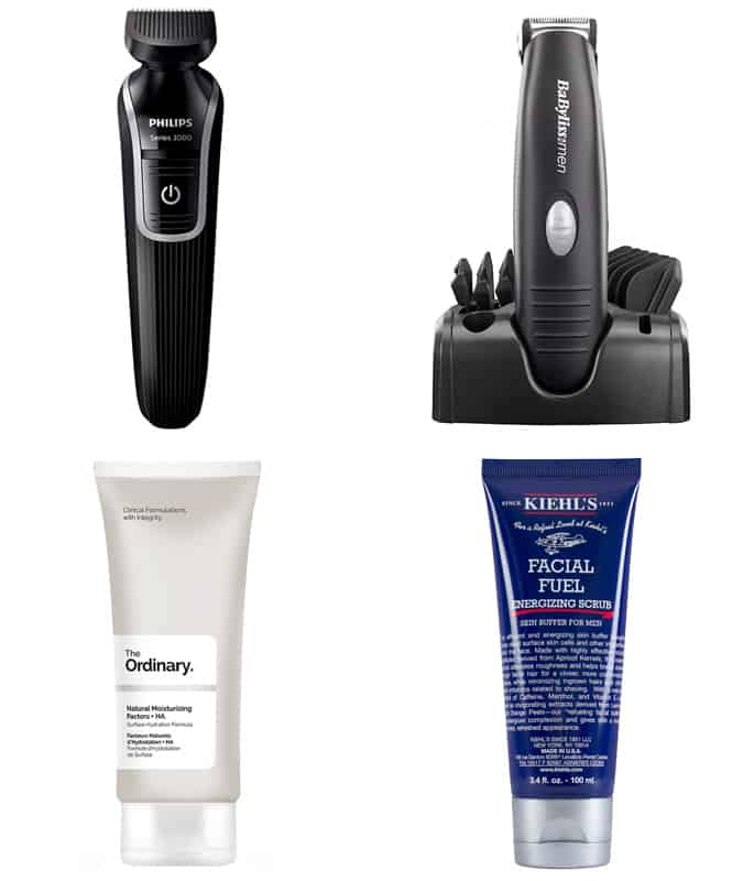 Men's Short Beard Grooming Products