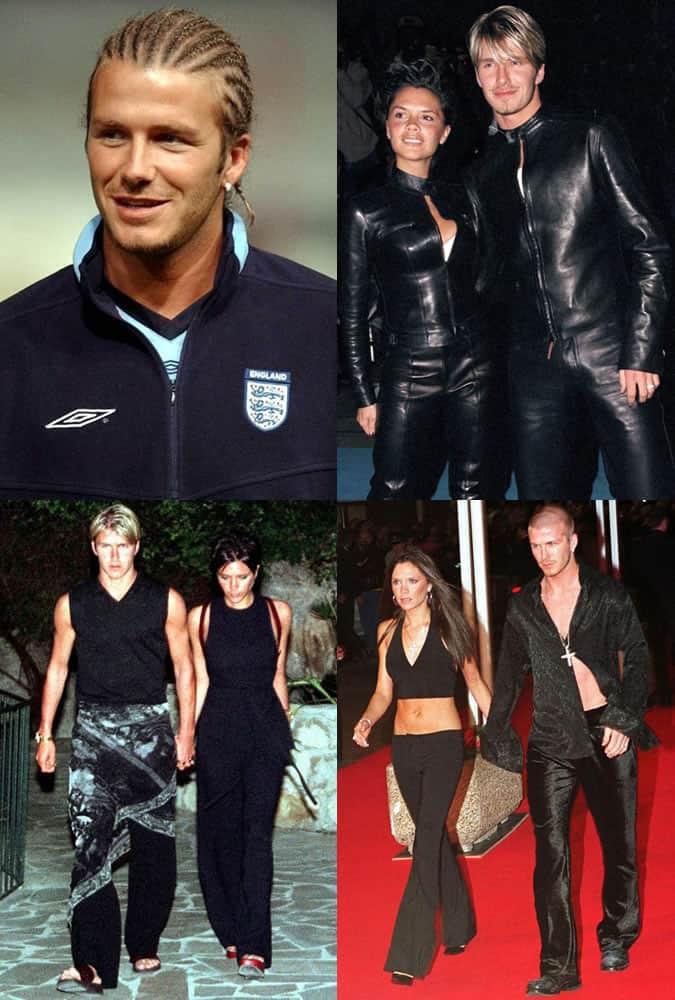 David Beckham - Style/Fashion Mistakes