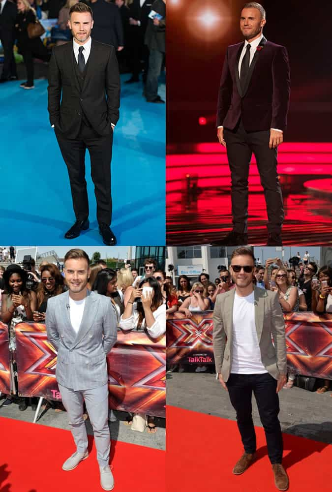 Gary Barlow - Style/Fashion Icon Outfits