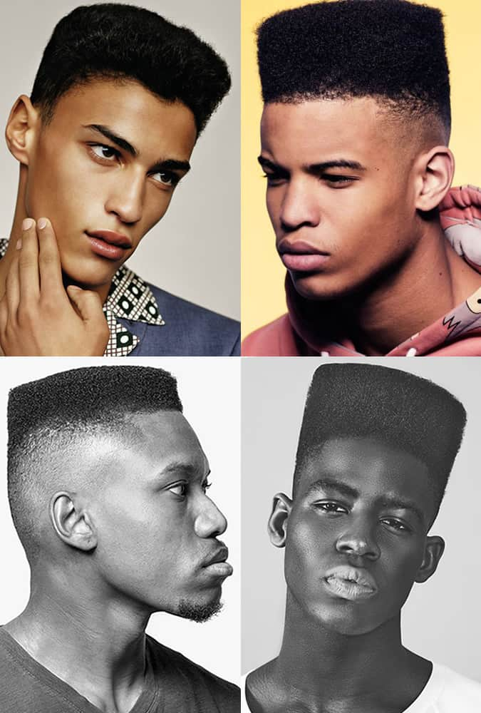 Greatest Haircuts - Modern Men's High-Top and Low-Top Fades