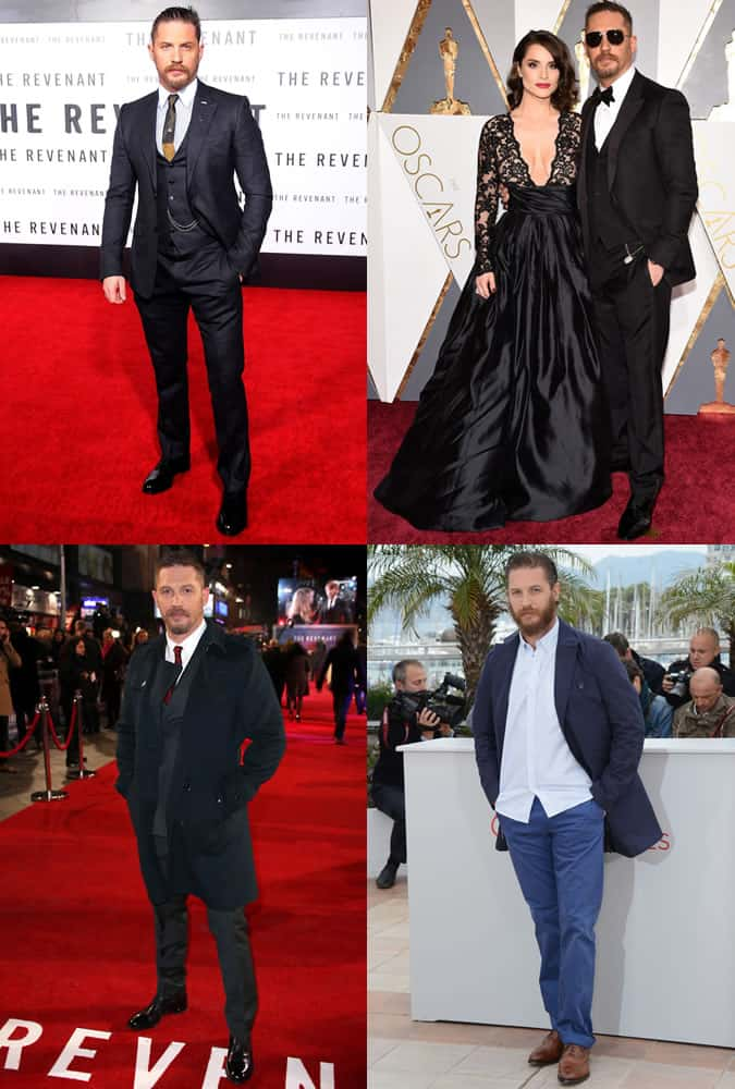 Tom Hardy - Style/Fashion Icon Outfits
