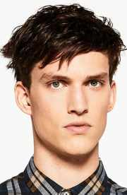 of men fringe haircuts