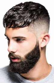 of men fringe haircuts