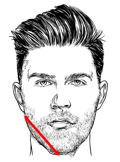 Step 4: Measure Your Jawline