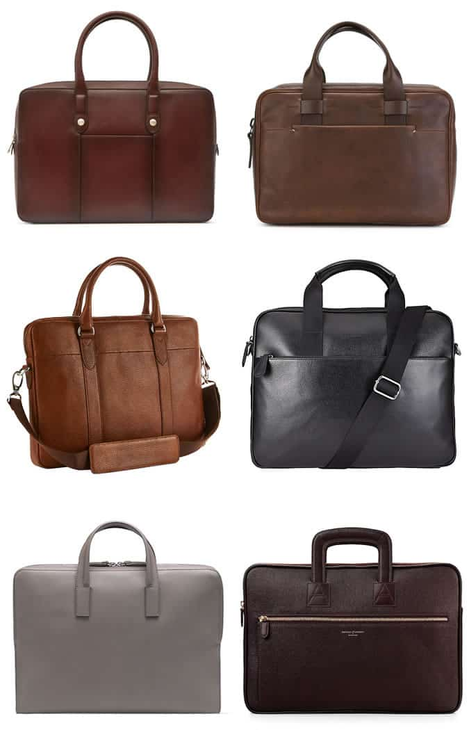 Men's Modern Soft-Sided Briefcases