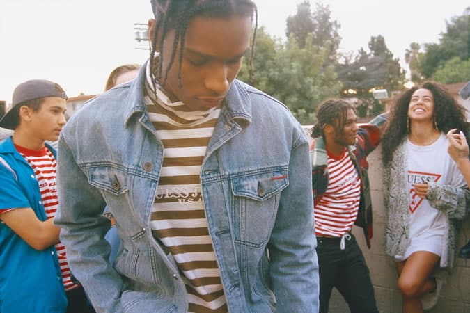 A$AP Rocky, Guess Originals