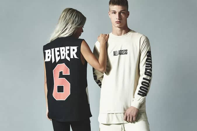 Justin Bieber, Jerry Lorenzo Purpose Merchandise