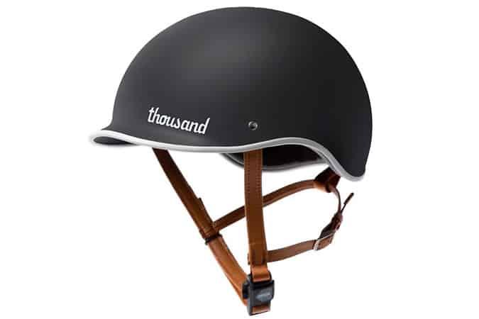 Thousand Black PopLock Bicycle Helmet