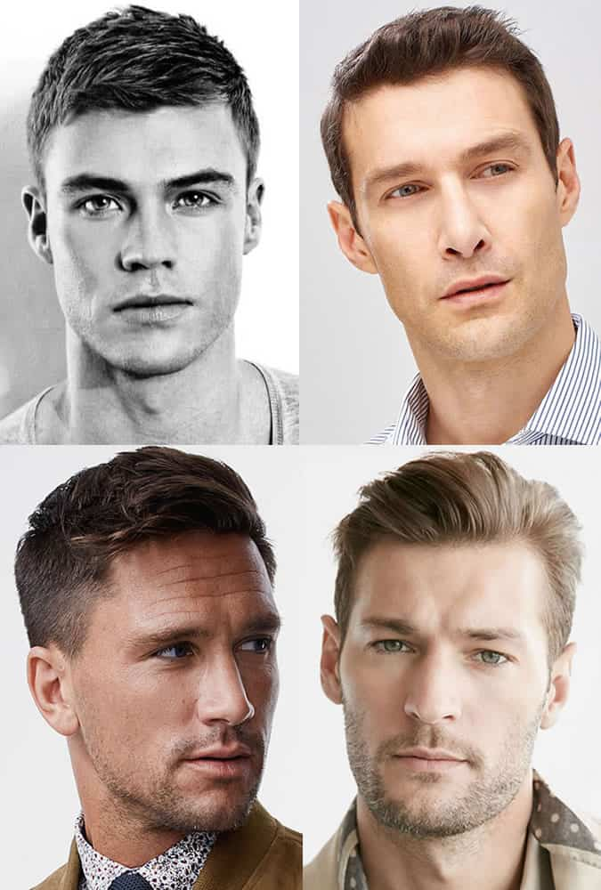 Men's 1950s Ivy League Princeton/Harvard Clip Hairstyles/Cuts