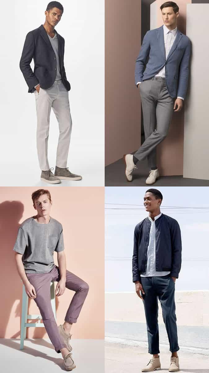 Lookbook Inspiration pour bottes d'été légères pour hommes