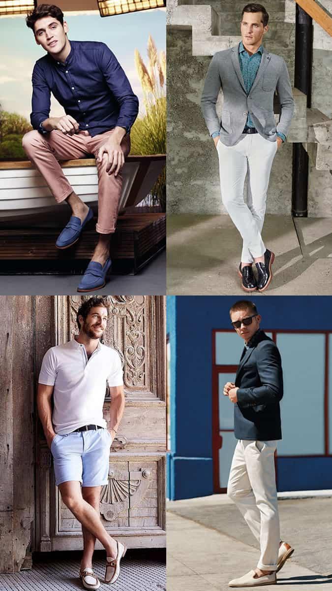 Mocassins et pantoufles de luxe pour hommes Lookbook d'inspiration
