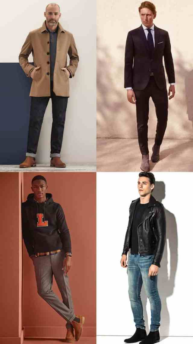 Men's Chelsea Boots Summer Outfit Inspiration Lookbook