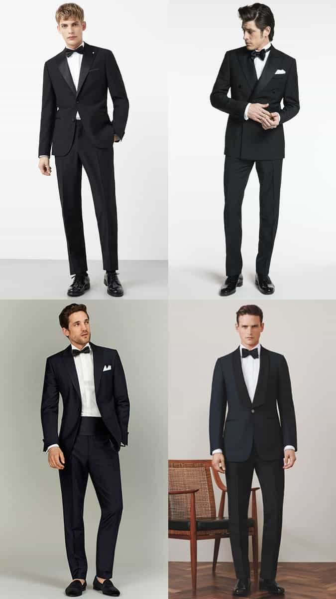Men's Black Tie/Dinner Jacket/Tuxedo Summer Wedding Guest Outfit Inspiration