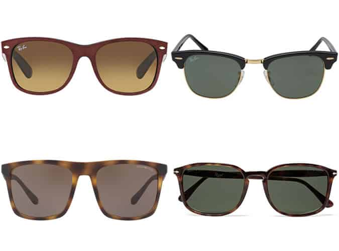 Men's Sunglasses For Round Face Shapes