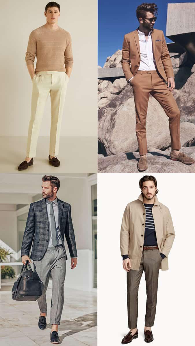 Mocassins à pampilles pour hommes Mode et style Inspiration Lookbook