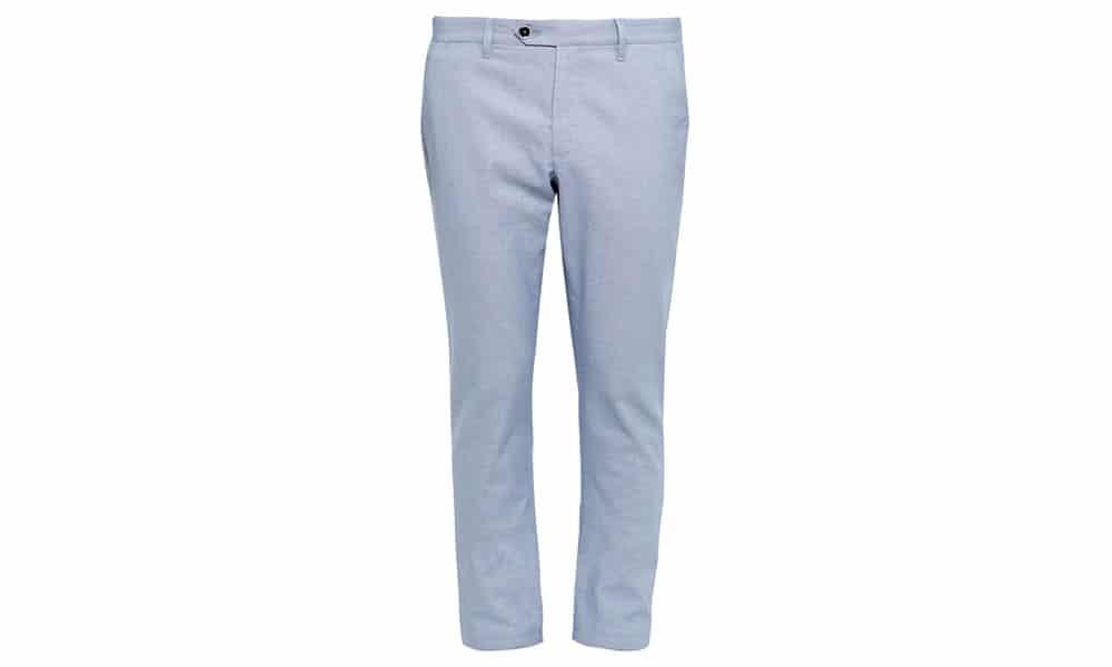 Pantalon chino en coton Oxford CLASMOR coupe classique