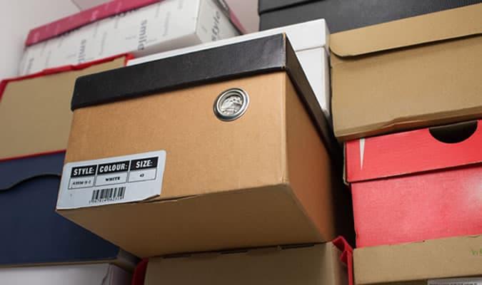Boîtes à chaussures