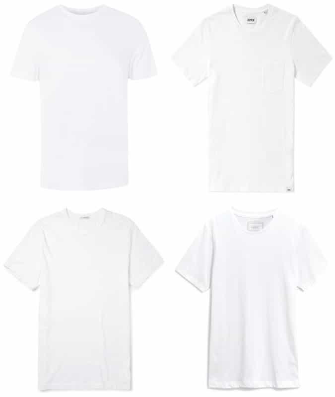 meilleurs t-shirts blancs pour hommes