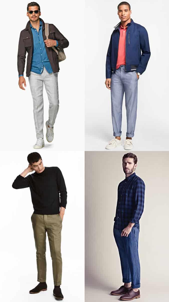 meilleur pantalon en lin pour hommes