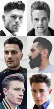 mens haircut lengths chart - haircuts