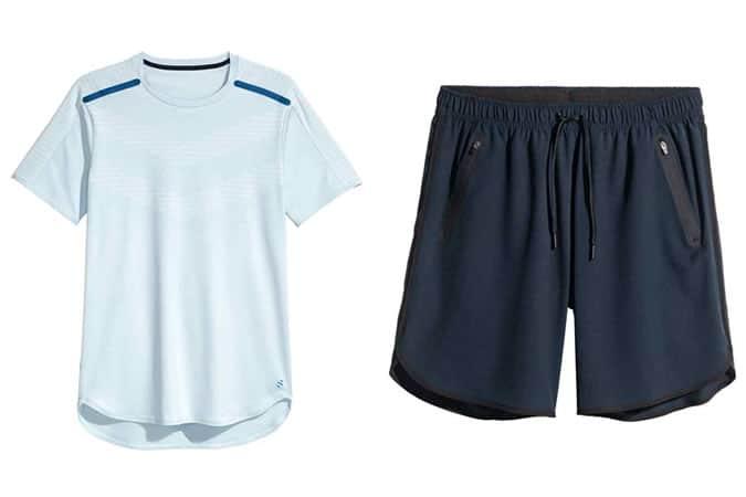Gamme de vêtements de sport et de performance H&M pour hommes