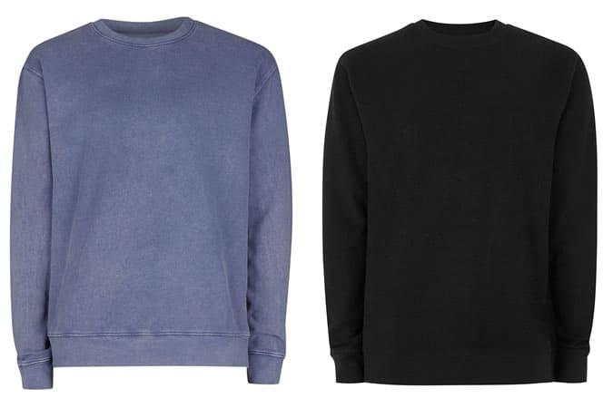 Sweatshirts basiques pour hommes