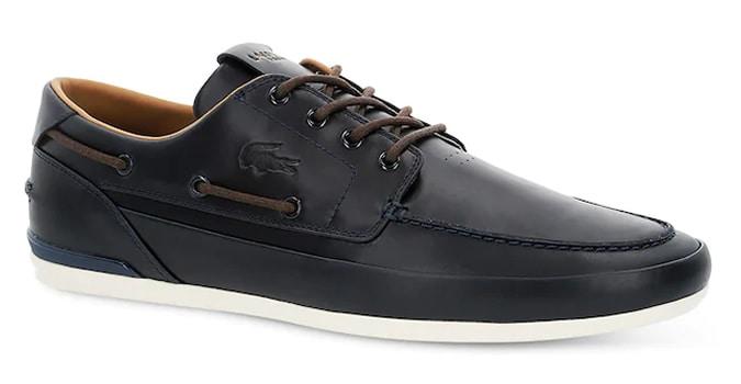 Chaussures de pont en cuir Marina Premium pour homme