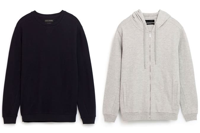 Sweatshirts basiques pour hommes - Zara